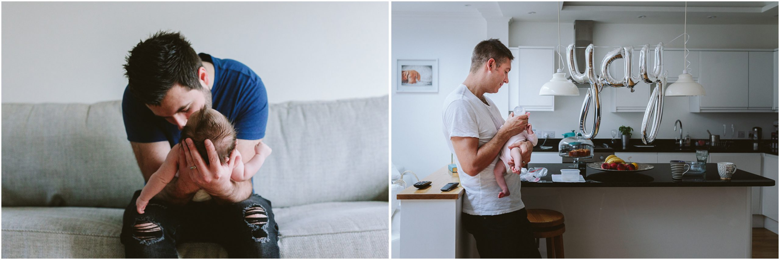 Dads with Newborns